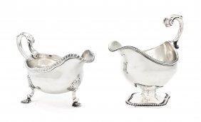 A George III Silver Sauce Boat, Daniel Smith & Robe