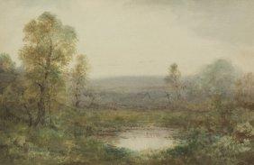Alexander Helwig Wyant, (American, 1836-1892), Morn
