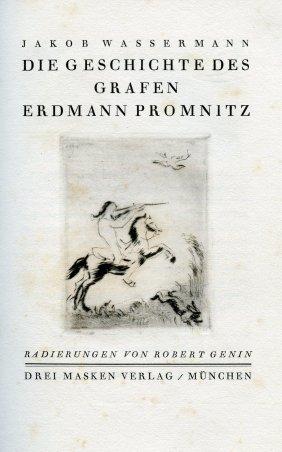 Die Geschichte Des Grafen Erdmann Promnitz - Jakob