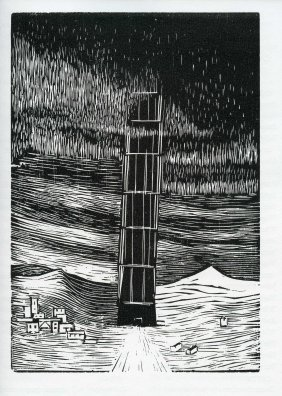 The Tower Of Babel - Woodcuts By Gerhard Marcks -