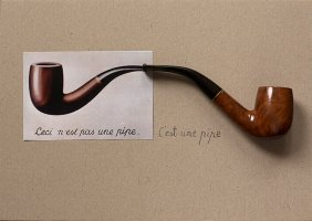 Stasys Eidrigevicius, This Is A Pipe, 2014