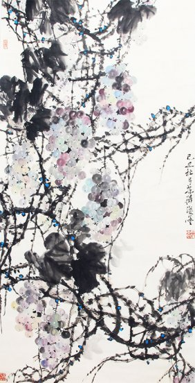 A Wu Dong Kui Chinese Painting, Attributed To