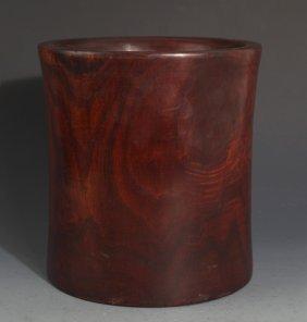 A Redwood Bush Pot