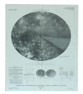 11 Maps Of Jupiter Moon Calisto