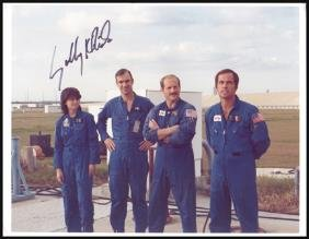 Autographed Shuttle Astronaut Photos