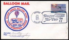 1977, 2nd Annual Balloon FLOWN Cover