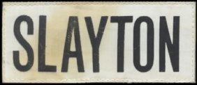 Deke Slayton's FLOWN ASTP Nametag