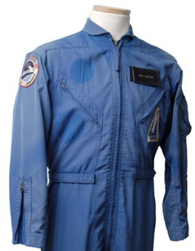 Deke Slayton's Blue ASTP Flightsuit