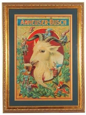 Anheuser-Busch Lithograph