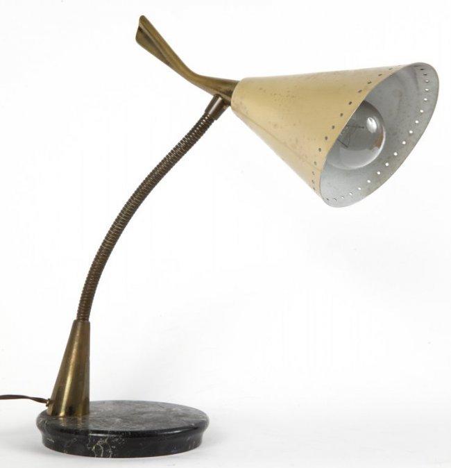 UNA LAMPADA DA TAVOLO, anni Â'50. Marmo, : Lot 1169