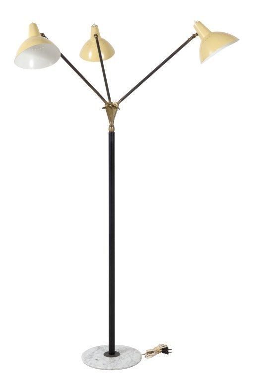 STILNOVO Una lampada da terra, anni Â'50. : Lot 1251