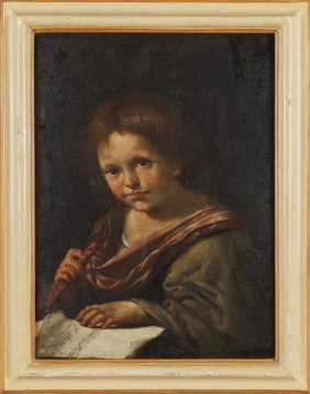 "Scuola Veneta Inizi Sec.xviii ""pifferaio"""