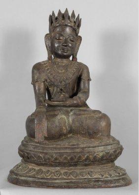 Budda In Papier Machè, Sec. Xix H. 72