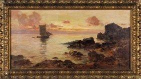 Cesare Bentivoglio (1868-1952) Paesaggio