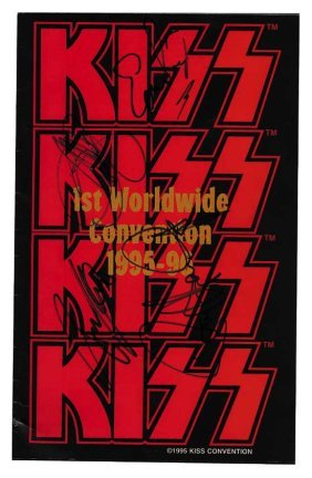 KISS Convention Group Signed Program