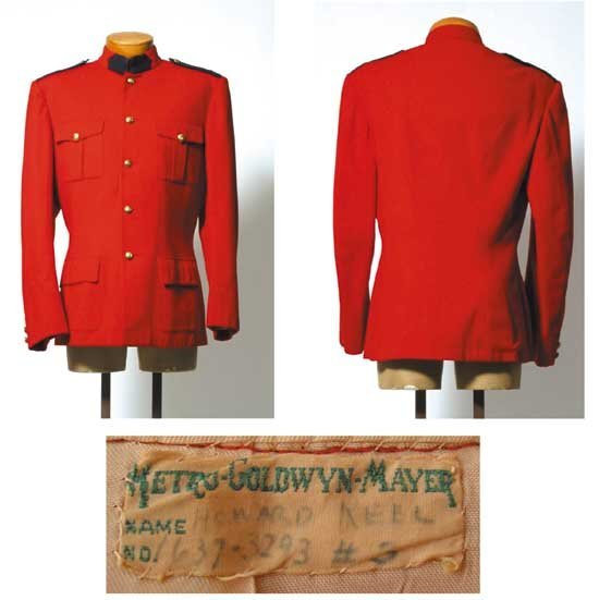 Howard Keel Mountie's Coat