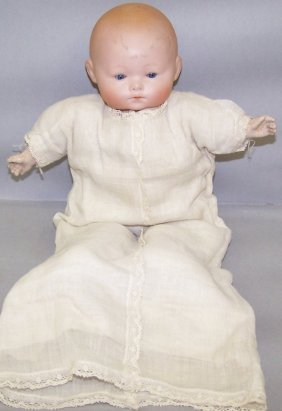 ARMAND MARSEILLE BYE-LO BISQUE HEAD DOLL|