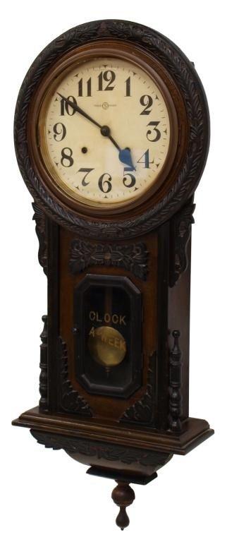 758 Japanese Seikosha Pre Wwii Wall Clock Lot 758