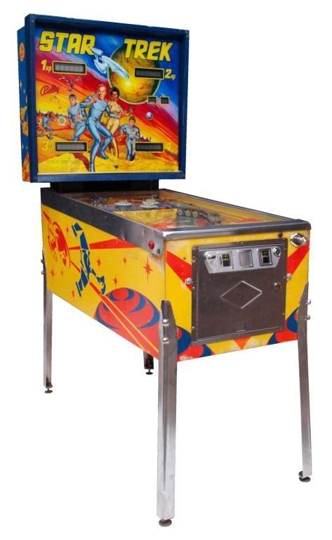 trek pinball machine 1978