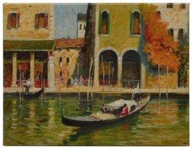OIL PAINTING, GIOVANNI SANVITALE, ITALY, B.1935