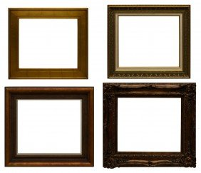 """(4) PICTURE FRAMES, 20"""" X 24"""""""