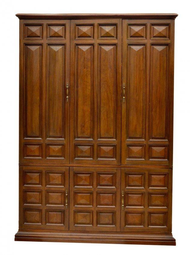 61 vintage narra wood cabinet reel to reel sansui lot 61 for Door design narra