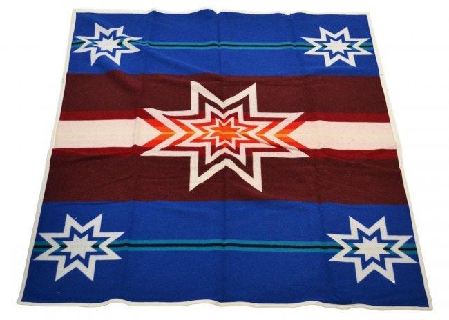 (2) PENDLETON WOOLEN MILLS BLANKETS, 'SIOUX STAR' : Lot 508