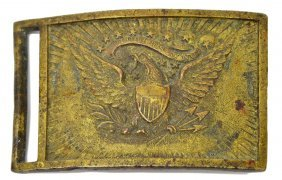 U.s. Model 1851 Civil War Belt Buckle