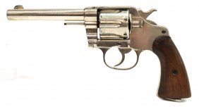 Colt New Service Revolver, Very Low Serial Number