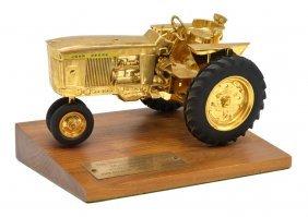 Rare John Deere Tractor Sales Award 1961