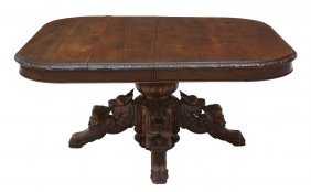 French Renaissance Revival Coffee Table