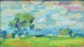 Marina Zavalova (russian/idaho B.1954) Landscape