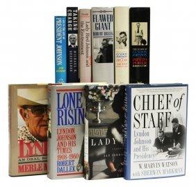 (10) Books: Presidency Of Lyndon B. Johnson