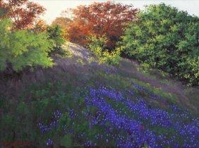 Russell Cushman (texas), Bluebonnet Painting
