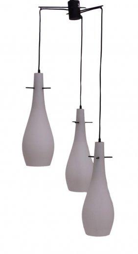Manner Of Stilnovo Hanging Pendant Lamp