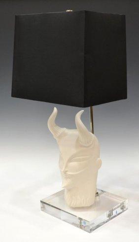 "Jonathan Adler Ceramic ""naughty"" Table Lamp"