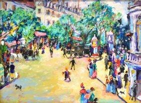 Bonnie Siebert (texas 20th/21st C) Acrylic/board