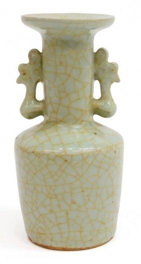 Chinese Song Dynatsty Celadon Porcelain Vase
