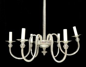 Italian Modern Six-light Chandelier
