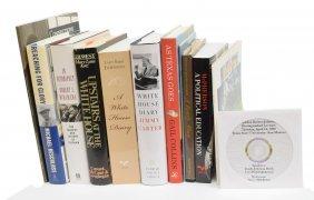 (11) Books, Us Presidents Johnson, Carter