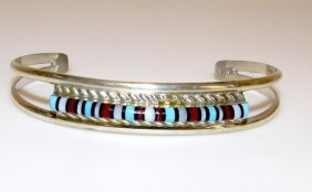 Native American Zuni Inlay Bracelet