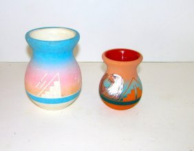 Vintage Native American Sioux Pottery Lot
