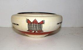 Vintage Mexican Casas Grandes Lizard Pottery Olla