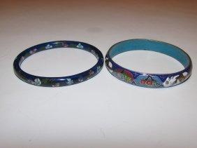 Vintage Chinese Cloisonne Bracelets Lot