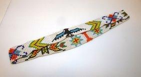 Vintage Zuni Ceremonial Beaded Headband
