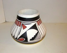 Vintage Mata Ortiz Polychrome Pottery By R. Galvan