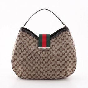 Authentic Gucci Large Hobo Bag