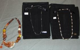Lot Of Assorted Necklaces.