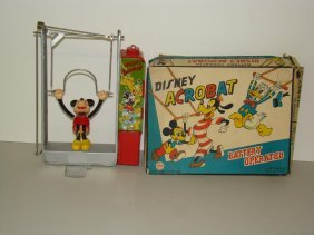 BOXED LINEMAR DISNEY MICKEY ACROBAT