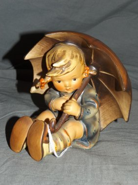 Hummel Figurine. 152/0 B. Umbrella Girl.